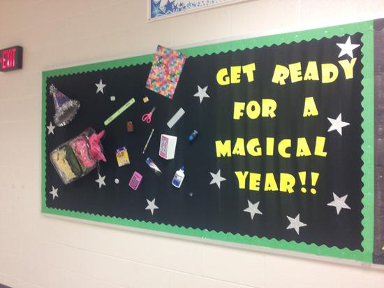 Get Ready For A Magical Year Back To School Bulletin