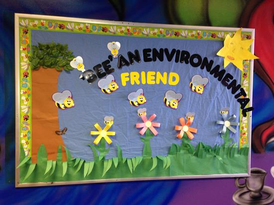 Environmental Bulletin Board for Spring