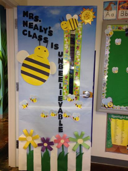 Bee Themed Door Decoration For Spring Or Summer Supplyme