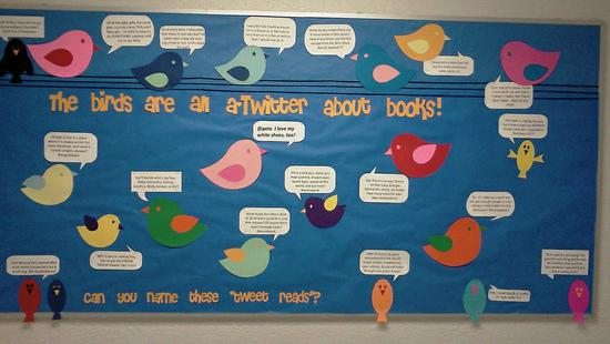 Social Media and Technology Back To School Bulletin Board Idea for Middle and High School