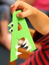 Alphabet Craft for Kids and Preschool Lesson Plan