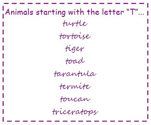 Animal Literacy Kindergarten Lesson Plan