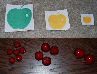Back To School, Fall, and Johnny Appleseed Math Preschool Lesson Plan