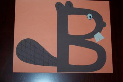 Alphabet Crafts for Kids and Preschool Lesson Plan