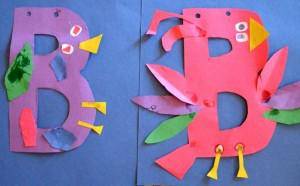 Alphabet Kids Craft and Preschool Lesson Plan