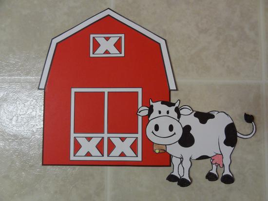 Elementary Farm Theme Bulletin Board Idea