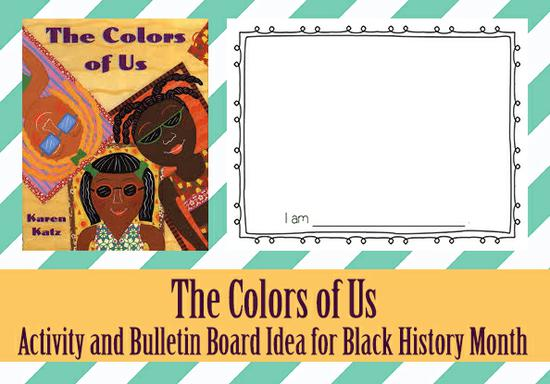 Black History Month Activity and Bulletin Board Idea