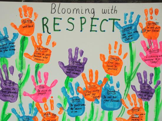 Spring Character Building Bulletin Board Idea
