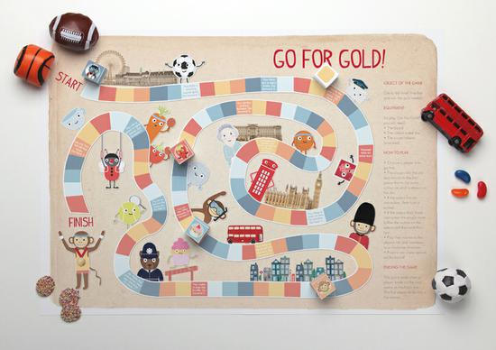 Summer Olympics Board Game and Kindergarten Lesson Plan
