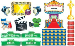 Hollywood and Movie Themed Bulletin Board Set