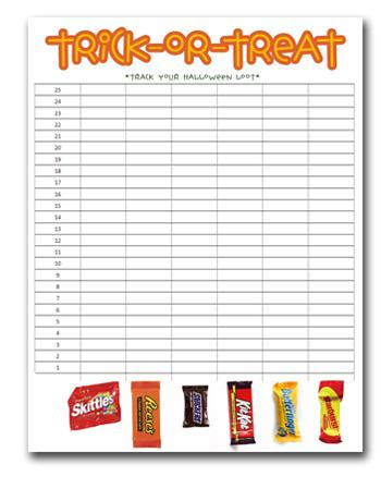 Halloween Math Preschool Printable