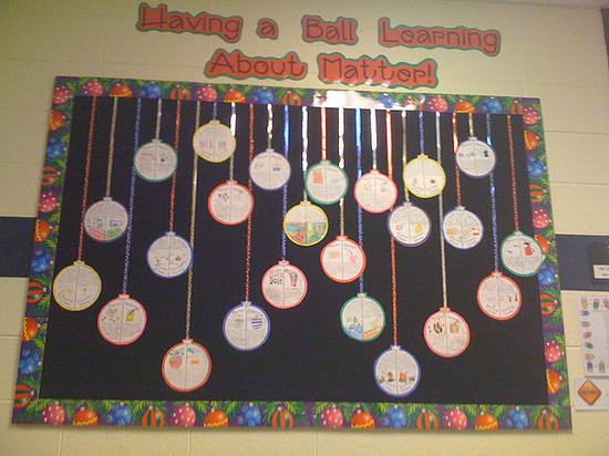 Have A Ball Christmas Ornaments Bulletin Board Idea Supplyme