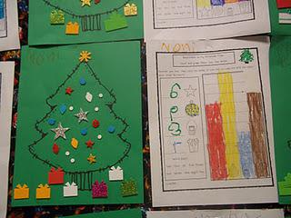 Christmas Tree Math Graphing Kindergarten Lesson Plan