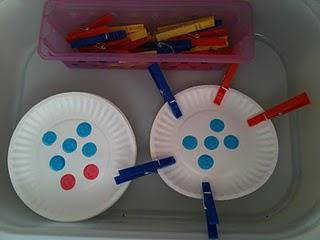 Counting and Fine Motor Skills Preschool Lesson Plan