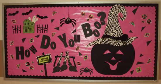 Halloween Bulletin Board Idea