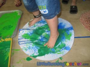 Earth Day Sensory Science Preschool Lesson Plan