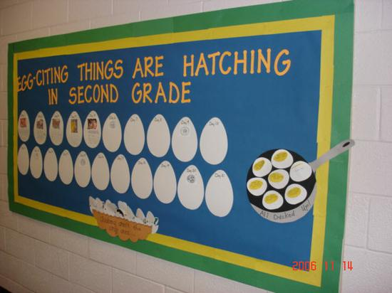 Math and Science Back to School Classroom Management Bulletin Board