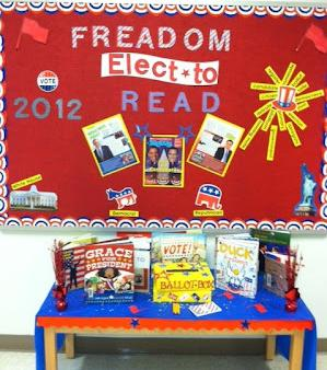 Elect To Read! - Election Themed Reading Bulletin Board ...