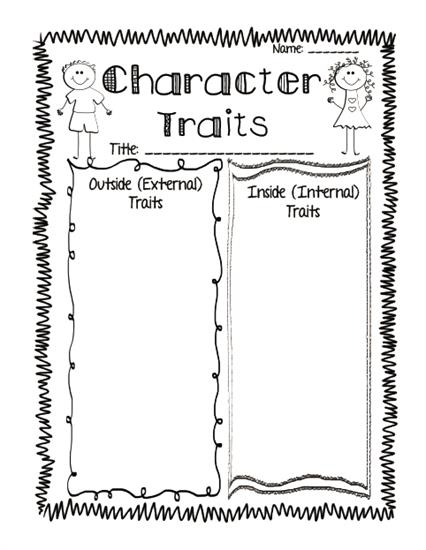 photo about Character Graphic Organizer Printable named Preferred Main Aligned Studying Reply Printables Moreover