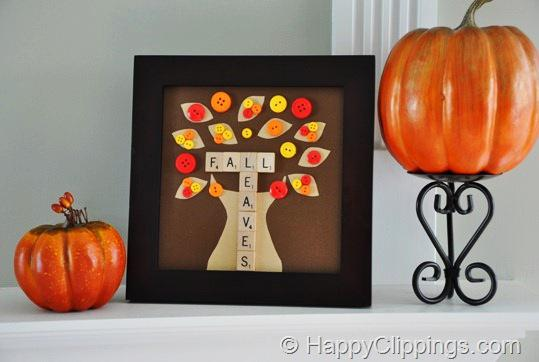 Fall and Thanksgiving Classroom Decoration and Kids Craft