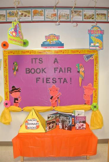 Fiesta Book Fair Bulletin Board