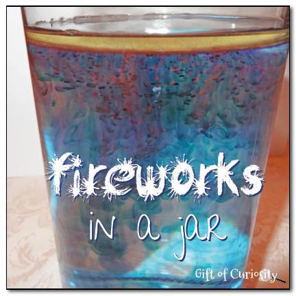 fireworks in a jar easy fun july 4th activity supplyme. Black Bedroom Furniture Sets. Home Design Ideas