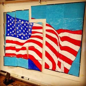 Memorial Day and Veteran's Day Craft Mural & Bulletin Board Idea