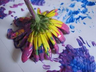 Spring Art Project for Kids and Preschool Lesson Plan