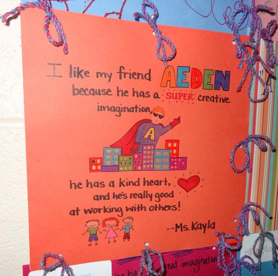 Preschool and Kindergarten Friendship Quilt Craft for Kids