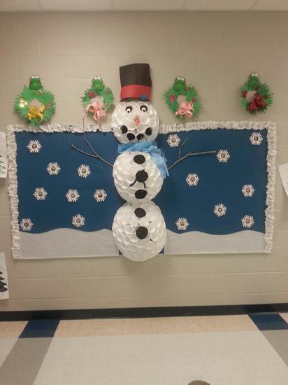 Frosty The Snowman Winter Bulletin Board Idea Supplyme