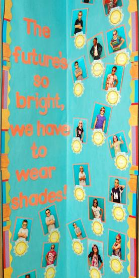 Summer and End of the Year Bulletin Board Idea