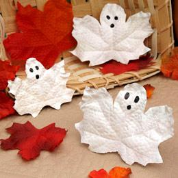 Halloween and Fall Ghost Craft for Kids