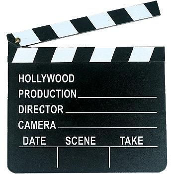 Hollywood Clapboard