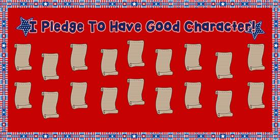 Patriotic Writing Activity and Bulletin Board Idea