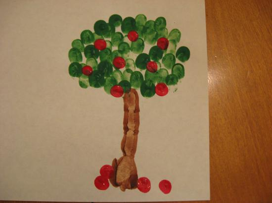 fingerprint apple tree