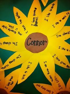 Spring Writing Craft for Kids and Bulletin Board Idea