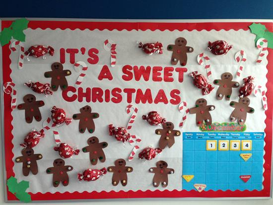 we love this festive holiday bulletin board created by the teachers at mckinley early childhood center arent the candies super cute