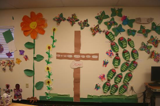 Jesus Is The Most Important Thing About Easter Bulletin Board Supplyme