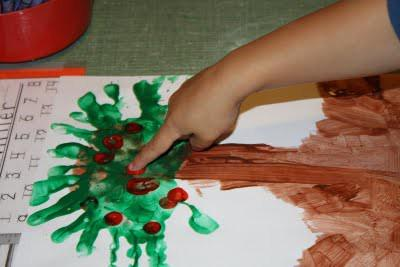 Johnny Appleseed Day Handprint Apple Tree Craft Supplyme