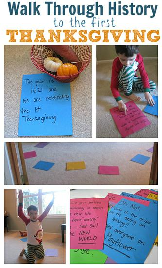 Thanksgiving History Kindergarten Lesson Plan