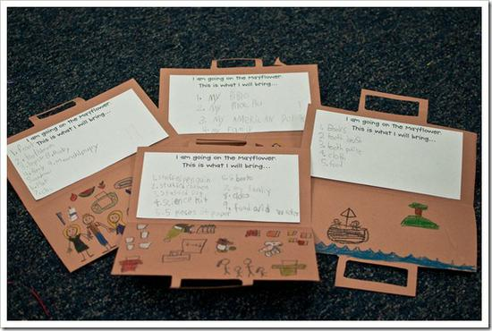Thanksgiving Craft and Writing Preschool Lesson Plan