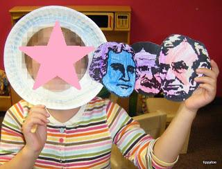 President's Day Craft for Kids and Bulletin Board Idea