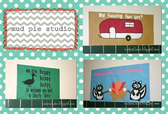 Camping Themed Back To School Bulletin Board Ideas