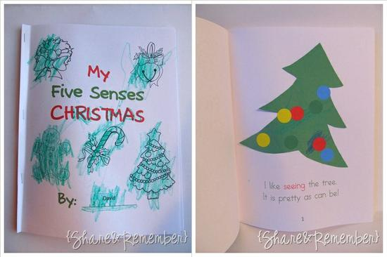 Christmas Emergent Reader and Science Preschool Printable