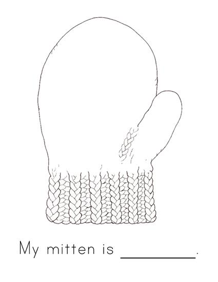 example mitten craft