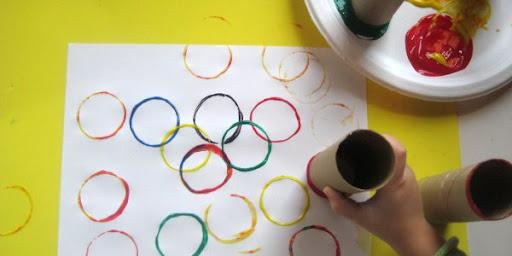 Summer Olympics Craft for Kids