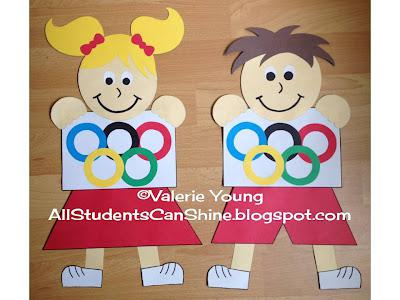 We Are Team Players Olympics Themed Back To School Bulletin Board Supplyme