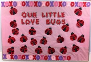 Our Little Love Bugs Valentine S Day Bulletin Board Idea Supplyme
