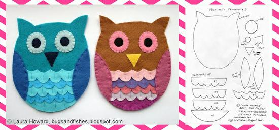 Valentine's Day Bulletin Board Idea and Owl Craft for Kids