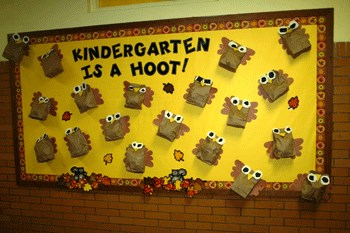 Fall or Autumn Bulletin Board Idea